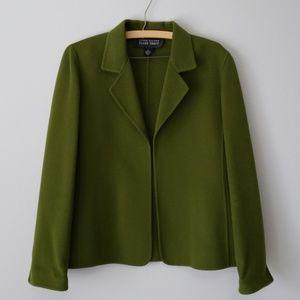 Linda Allard by Ellen Fisher Wool Open Coat